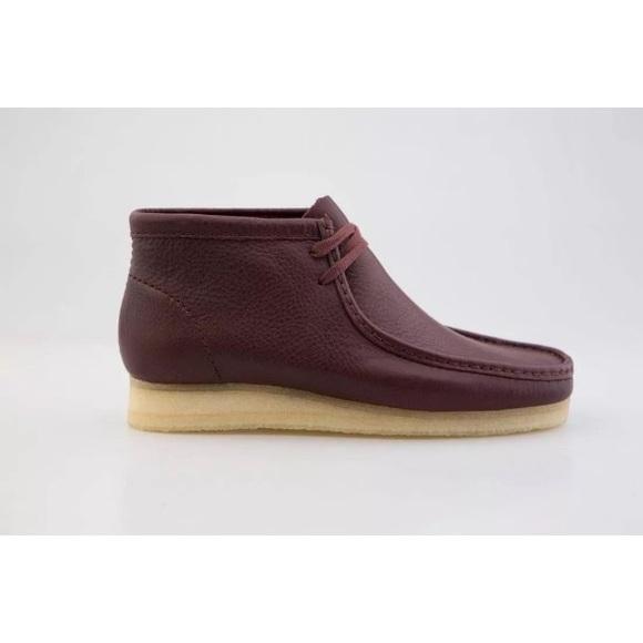Clarks Originals Wallabee Boot Burgundy